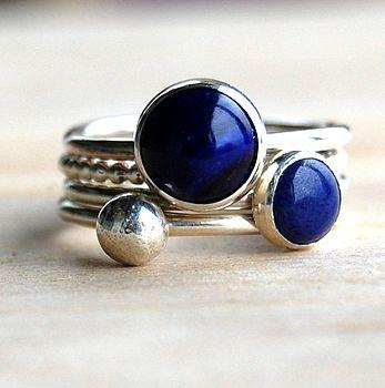 Handmade stacking rings