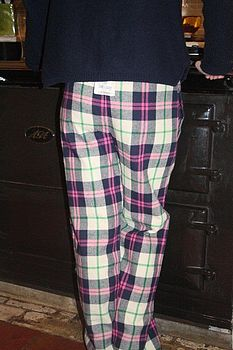 Alberta Checked Lounge Pants