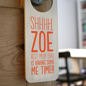 Personalised Door Hanger For Her - decorative accessories