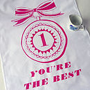 'You're The Best' Tea Towel