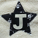 Personalised Boy's Star Cushion