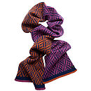 Diamond Twill Knitted Scarf