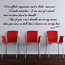 I'm Selfish Quote Wall Stickers