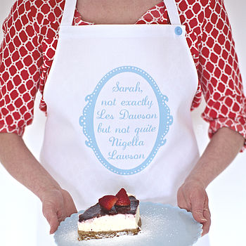 Not Quite Nigella Personalised Apron