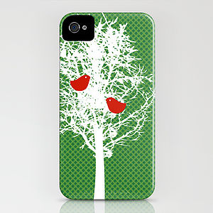 Tree Silhouette Pattern Case For IPhone - bags & purses
