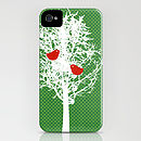 Tree On Green Pattern On Phone Case