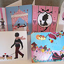 Girlie Greeting Card