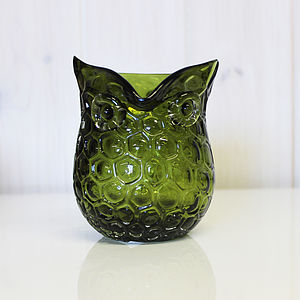 Glass Owl Jug - jugs & bottles
