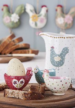 Spotty Chicken Egg Cup