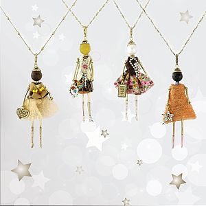 Dolly Diva Necklace - necklaces & pendants
