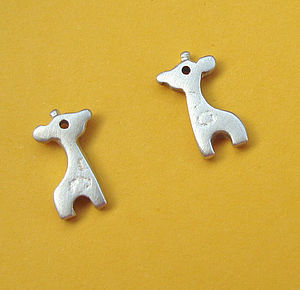 Giraffe Stud Earrings - children's jewellery
