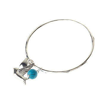 Bird And Stone Bangle