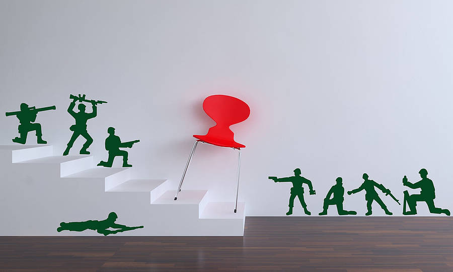 Toy Soldier Wall Stickers Part 74
