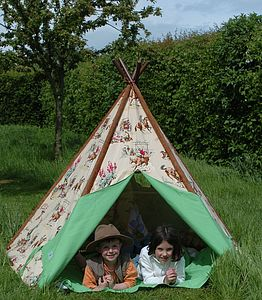 Cowboys And Indians Wigwam - outdoor toys & games