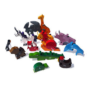 Alphabet Zoo Jigsaw Puzzle - board games & puzzles