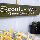 Gardeners Gift Personalised Shed Sign