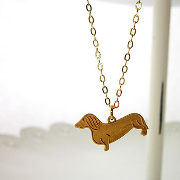 Susie The Dachshund Necklace