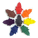 Set Of Eight Penguin Crayons