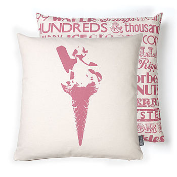 Ice Cream Delight Cushion