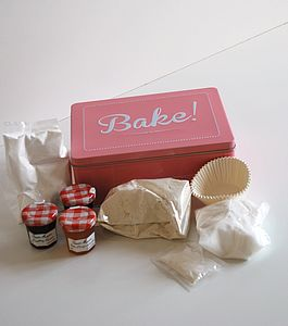 Baking Kit And Vintage Style Tin - children's cooking