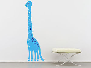 Kids Dinosaur Height Chart Wall Sticker