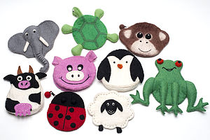 Handmade Felt Animal Purse - bags, purses & wallets