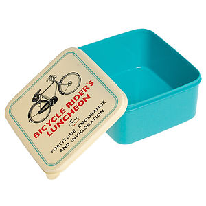 Bicycle Lunch Box - kitchen accessories