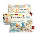 Lowestoft Beach Cosmetic Bag
