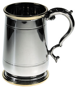 Personalised Jacobean Style Tankard - mugs