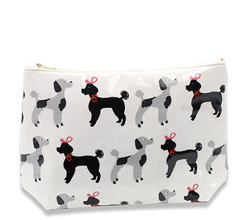 Poodle Make Up Bag
