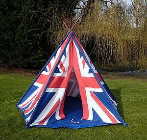 Boy's Union Jack Wigwam - tents, dens & wigwams