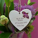 Personalised Wedding Gift Decoration