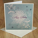 Nature Happy Birthday Card