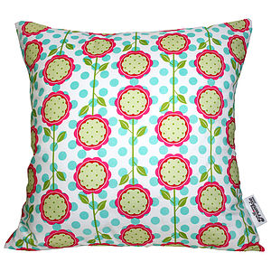 Scandinavian Fabric Cushions - baby's room