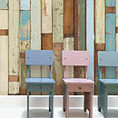 Dutch Scrapwood Wallpaper Three