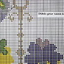 Butterfly 'Tea Room' Cross Stitch Kit