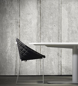 Concrete Wallpaper Design Three - on trend: concrete