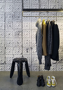 Merci Brooklyn Tin Tiles Wallpaper TIN 04 - office & study