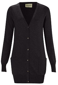 Boyfriend Cardigan,Cot,Wool Cashmere - jumpers & cardigans
