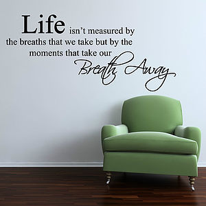 Life Moments Wall Stickers - decorative accessories