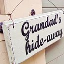 Grandparents Personalised Wire Strung Sign