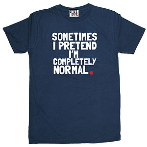 'Sometimes I Pretend' T Shirt - t-shirts & tops