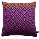 Diamond Twill Knitted Cushion