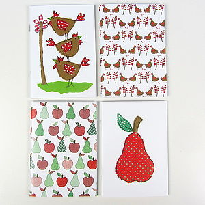 Hens Or Apples Pocket Notebook - toys & games