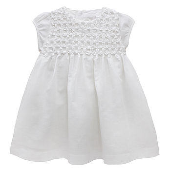 French Design Traditional Smocking Dress