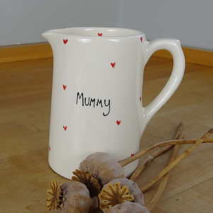 Personalised Heart Jug - tableware