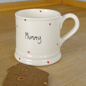 Personalised Heart Mug