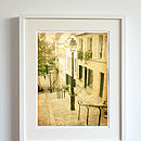 Autumn In Montmatre Photographic Print