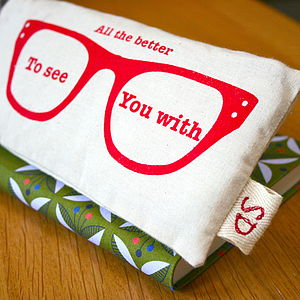 Printed Personalised Glasses Case - glasses cases