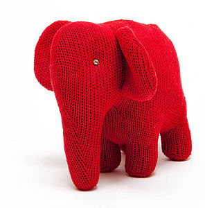 Knitted Elephant Toy - shop by price